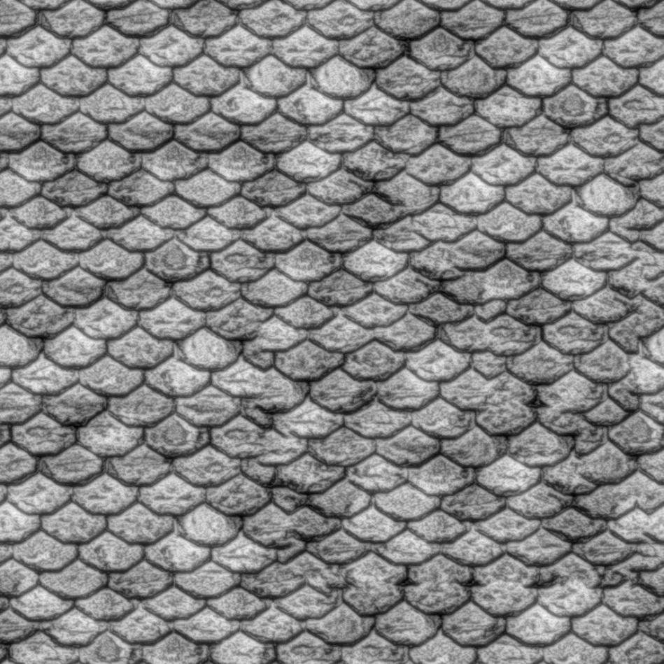 traditional rooftile_dispmap | Nomeradona