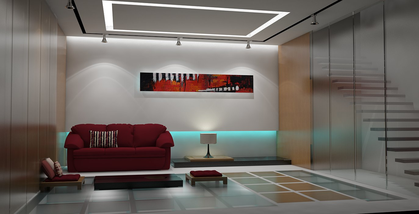 Sketchup living room